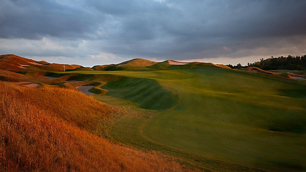Irish golf course
