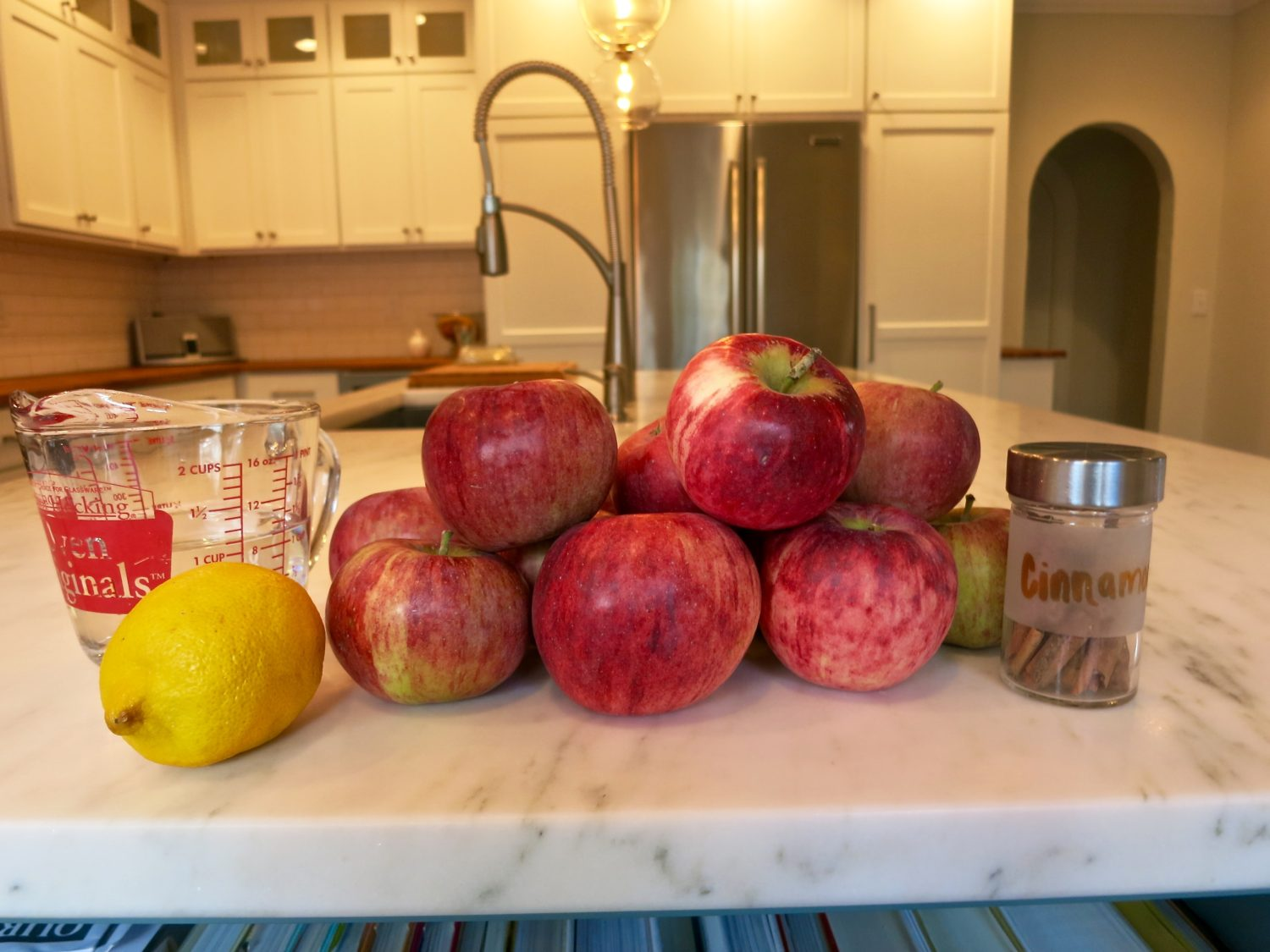 Apple sauce ingredients