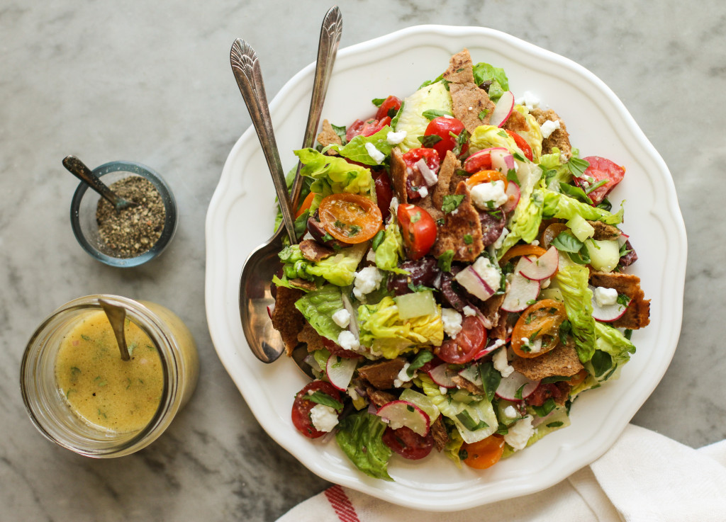 Healthy Diet: Fattoush Salad